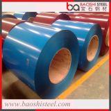 Le fournisseur Ral9010 d'or a enduit la bobine d'une première couche de peinture en acier enduite par couleur de PPGI
