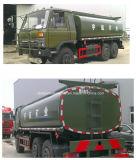 タンク自動車のトラック6X6 10000リットルのを離れた10のKlはトラックどこでも燃料タンクの行く