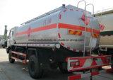 4X2 6 rueda 12000 litros de carro de petrolero 12 toneladas de gasolina de carro del depósito para la venta