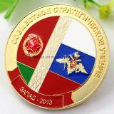 Moneda de encargo del recuerdo de la aleación del cinc para el protector del estado