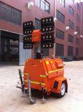 Tour d'éclairage mobile de DEL avec le groupe électrogène 4kw diesel