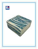 Fácil embalaje caja de regalo de papel con el logotipo de Cutomized