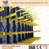 Cremalheira Cantilever do armazenamento de aço ajustável para o armazém com certificado do Ce
