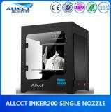 dépôt protégé par fusible par appareil de bureau de construction de 200X200X200mm modelant l'imprimante 3D
