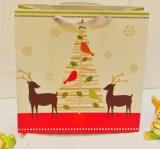 ペーパークリスマスのギフト袋、包装のショッピング・バッグ
