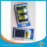 Lâmpada de emergência solar LED 3W com carregador