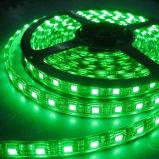 Tira branca branca morna azul verde vermelha flexível da luz do diodo emissor de luz do amarelo 60LEDs da luz de tira do diodo emissor de luz de DC12V, luz de tira do diodo emissor de luz