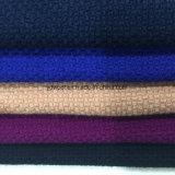 Tejido de lana granular listo Greige