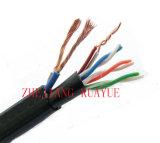 4 pares al aire libre de Cat5e UTP del cable de la red/cable del ordenador/cable de datos/cable de la comunicación/cable/conector audios