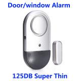 새로운 도착 온/오프 스위치를 가진 최고 얇은 125dB 반대로 강도 문 Windows 경보