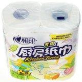 Broodje 365 van het Toiletpapier van de Houtpulp van de keuken Speciaal Speciaal Zacht 100% Maagdelijk 3ply