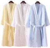 Commerce de gros 100% coton Pyjama gaufres Underwear peignoir de bain