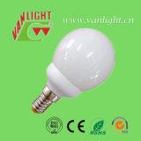 Mini tipo globo forma CFL 9W (VLC-MGLB-9W-A), lámpara de ahorro de energía
