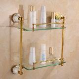 洗浄部屋のためのガラス棚かコーナーまたは壁または装飾