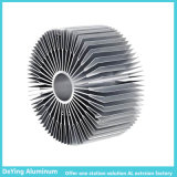 Perfiles de aluminio del disipador de calor de la precisión industrial