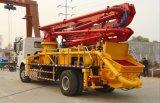 bomba concreta montada do crescimento do projeto 4*2 de 37m caminhão novo