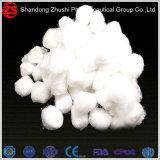 100%年の綿の白い医学の吸収性の原綿の球