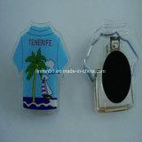 Magnete di plastica del frigorifero della maglietta della decorazione su ordinazione per il regalo di promozione
