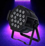 Stade discothèque Effet Lumière LED 18x10W par la lumière LED RGBW 4en1