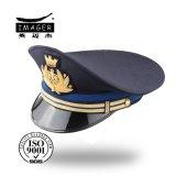 Cappello principale maggiore personalizzato del blu marino con ricamo