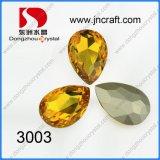 Het buitensporige Glas van het Kristal parelt de Parels van de Juwelen van de Traan van Stenen