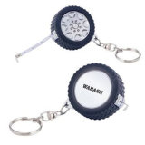 Articles promotionnels Mini Steel Tape Measure Metal Key Chain (MST-029)