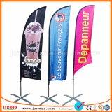 Цифровая печать дешево Custom пуховые флаг