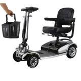 좋은 가격 4 바퀴 신체 장애자를 위한 Foldable 전기 기동성 스쿠터