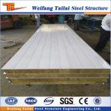 Ton und Wärmeisolierung Sandewih Panel für Stahlkonstruktion-Haus