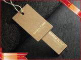 Повесьте Tag Hangtag бумаги крафт-бумаги тег индекса для одежды