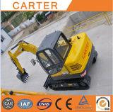 Excavatrice hydraulique multifonctionnelle de pelle rétro de CT60-8b (Yanmar engine&6t)