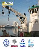 Сверхмощный гидровлический морской палубный судовой кран