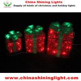 Feiertags-Lichter der Sisal-Kasten-multi Farben-Weihnachtsdekoration-LED