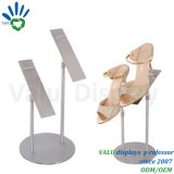 Indoor Metal Shoes Display Rack for Shoes Blind and Shoes Shop