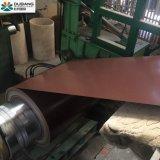 Sustrato de galvanizado en caliente de la bobina de acero prebarnizado