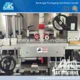 Carrocería de la botella y máquina de etiquetado de la funda de las pistas del doble de la cápsula