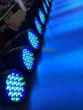 LED Parcan 54*3WはDJの段階のためのIP65屋外LEDの同価を防水する
