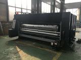 Alta velocidade automática Flexo caixa de papelão ondulado para escatelar impressão máquina de embalagem