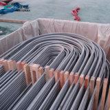 ASTM A213 ASME SA213 ASTM A249 ASME SA249の継ぎ目が無い溶接されたステンレス鋼Uのくねりの管