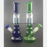 De blauwe, Groene pompoen-Gevormde Filter van de Kleur van de Waterpijp van het Glas