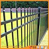 Personalizar la parte superior de lanza de acero al por mayor de valla de jardín