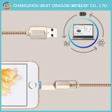 OEM нейлоновой оплеткой USB 3.1 типа с функцией быстрой зарядки кабель для iPhone и Android