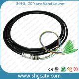 고품질 단일 모드 단순한 Sc/APC 광섬유 접속 코드 (SC/APC-SC/APC)
