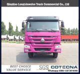 HOWO 6X4/descarga de caminhões de carga com corpo de carga de alta qualidade