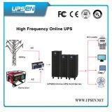 3/1 com em linha do sistema 10k 15k 20k 30kVA do UPS do Hf da fase/sem modelos da bateria para escolhem