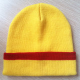 Qualität gestickte Knit-Schutzkappe, Beanie, Sports Schutzkappen