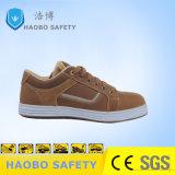 Коричневый цвет высокого качества промышленной безопасности обувь