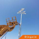 Nuevo estilo 2016 para la lámpara solar de 60W LED con la iluminación poste de la altura de los 8m