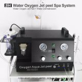 precio de fábrica de chorro de oxígeno de la máquina la cáscara con agua, la dermabrasión manejar