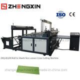 Nicht gesponnene einzelnes Blatt-Ausschnitt-Maschine Zxq-B1200
